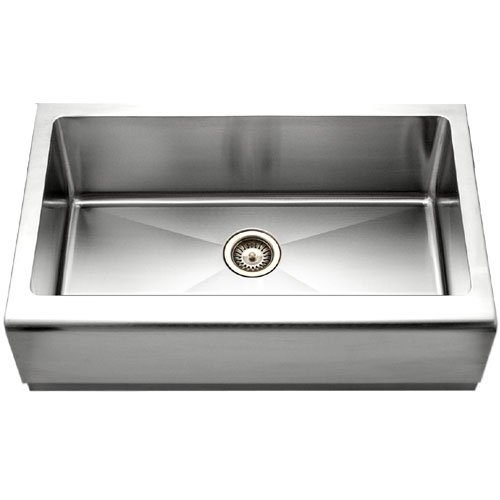 7 Inch Apron Front Sink : ... Epicure 32-7/8-by-20-Inch Single Bowl Apron Front Stainless Steel Sink