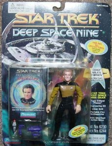 "Star Trek Deep Space Nine Chief Miles O'Brien 4.5"" Action Figure"