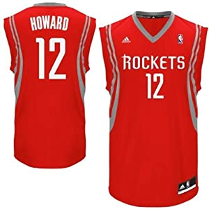 NBA Dwight Howard Houston Rockets Youth Swingman Sewn Name and Number Jersey Red by adidas