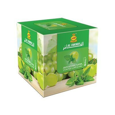 Al Fakher ( Grape with Mint)-- 250g ...1 PACK (Al Fakher Tobacco Grape compare prices)