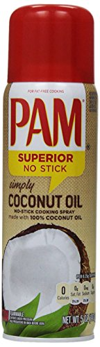 PAM Coconut Oil Cooking Spray, 5 oz