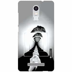 Printland Back Cover For Xiaomi Redmi Note 3 - suit ip Designer Cases