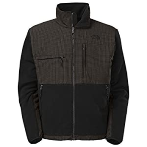 The North Face Men's Full Zip Denali Jacket, TNF Black/TNF Black Plaid, XX-Large