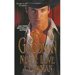 Never Love a Lawman by Jo Goodman