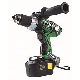 Hitachi DS18DMR 18-Volt Ni-MH 1/2-Inch Cordless Drill/Driver Kit