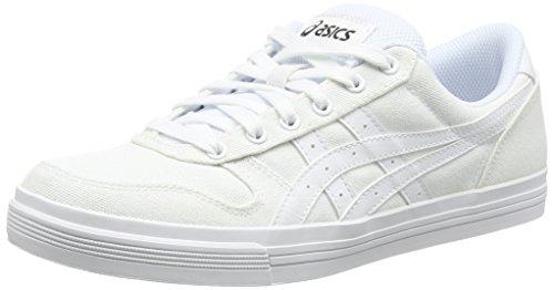 ASICS Aaron, Unisex-Erwachsene Sneakers, Weiß (white/white 0101), 41.5 EU thumbnail