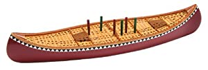 GSI Outdoors 99883 Canoe Cribbage Board