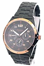 Fossil Watches Sale - Fossil Men's Multi-Function Black Dial Watch #BQ9348