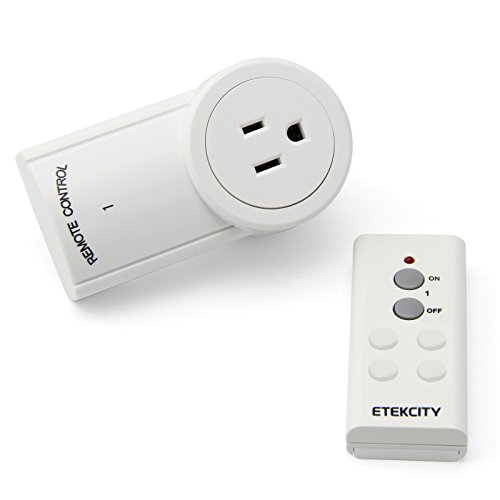 Etekcity® Wireless Controlled Electrical Switch Socket Outlet with Remote (Battery Included)