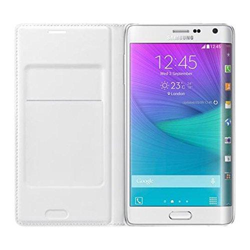 【Galaxy Note Edge】E1 (C) 【サムスン正規品】Samsung Flip Wallet Case/手帳型 純正品 docomo SC-01G au SCL24/GALAXY Note Edge ケース GALAXY Note Edge カバー サムスン ギャラクシーノートエッジケース スマホケース スマホカバー (Chacoal)