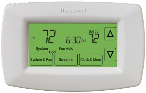 Honeywell RET97C0D1005/U 7-Day Touchscreen Programmable Ther