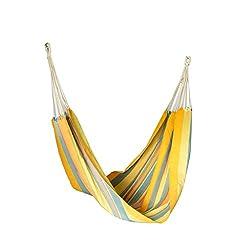 Slack Jack Brazilian Fabric Hammock (Yellow, Orange, Red and Green)