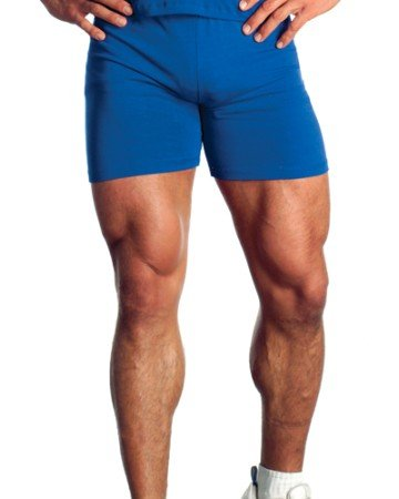 Mens Cotton Lycra Bike Short by Pitbull in your choice of color
