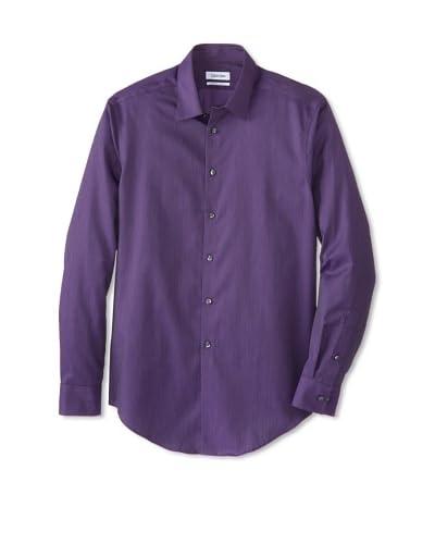 Calvin Klein Men's Non-Iron Slim Fit Dress Shirt