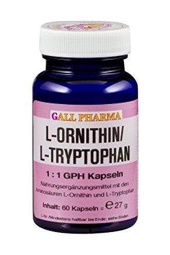 Gall Pharma L-Ornithin/L-Tryptophan 1:1 GPH Kapseln 60 Stuck
