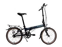 Dahon Vitesse D7HG Folding Bike, Navy, One Size by Dahon