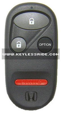 Keyless Ride 5060 Honda/Acura Group 4 Button Oem Replacement Auto Remote Control