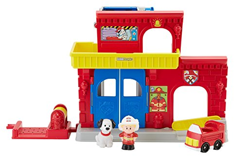 Fisher-Price Little People Wheelies Fire Station - 1