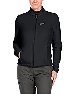 Jack Wolfskin Women's Moonrise Fleece Jacket - Black, X-Small