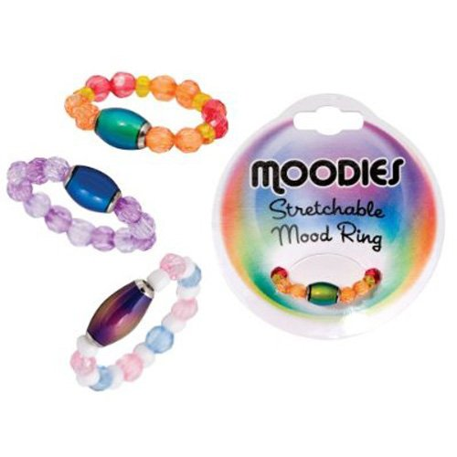 MOODIES String Beaded Mood ring jewelry Style - ASSORTED COLORS