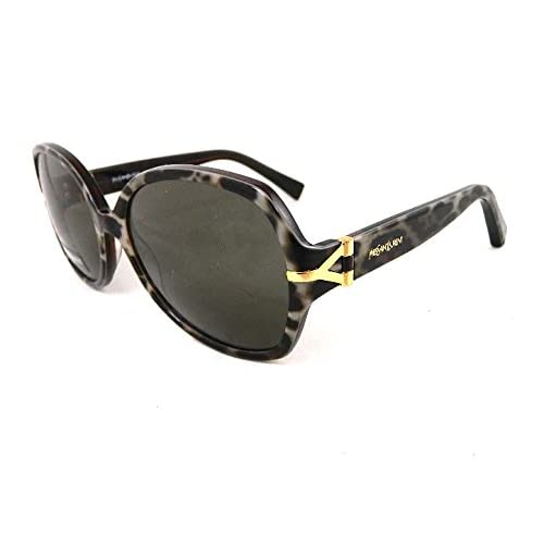 YVES SAINT LAURENT Designer Sunglasses YSL 6308S MOM 70 Black Grey Gold Browns Made In Italy