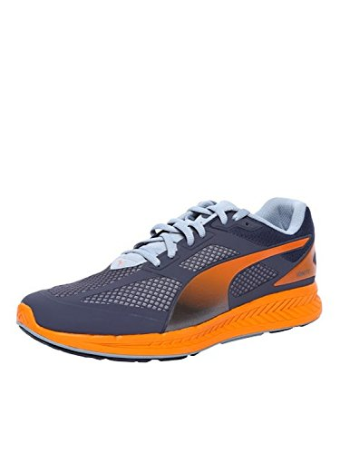 Puma - Ignite Mesh, Sneakers da uomo, Blu (Blau (periscope-quarry-vermillion orange 03)), 43