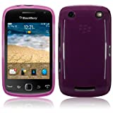 Blackberry Curve 9380 TPU Gel Skin Case / Cover - Purple PART OF THE QUBITS ACCESSORIES RANGEby TERRAPIN