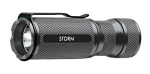 NovaTac Storm LED Flashlight, Gun Metal