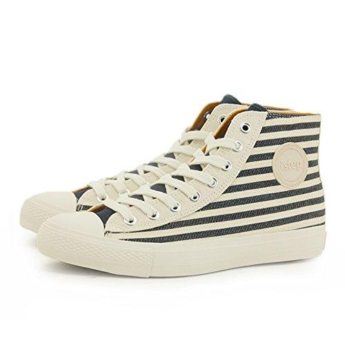 Ciao tela scarpe in autunno/ studenti turno la scarpa UK/ Joker traspirante scarpe casuale-B Lunghezza piede=25.3CM(10Inch)