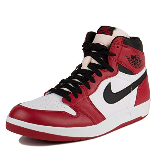 "Nike Mens Air Jordan 1 High The Return ""1.5"" Varsity Red/Black-White Leather Size 11"