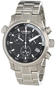 Golana Swiss Men'S Aq300-2 Aqua Pro 300 Stainless Steel Watch