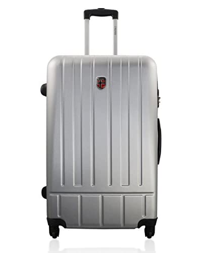 Geographical Norway Trolley 4 Ruote Saga [Argento]