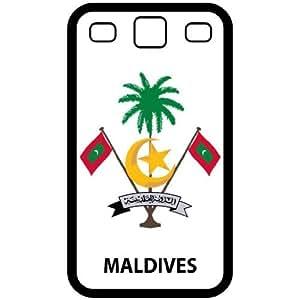 Amazon.com: Maldives - Country Coat Of Arms Flag Emblem Black Samsung