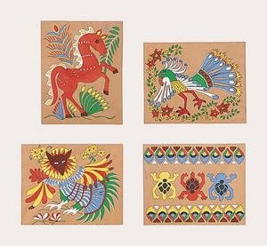Buy Mexican Bark Painting Group Pack (Pk/24)