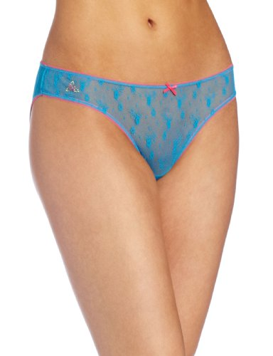 Betsey Johnson Women's Chantilly Floral Wideside Bikini Panty by Betsey Johnson