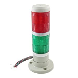 Amazon 24V DC Industrial Red Green LED Signal Tower