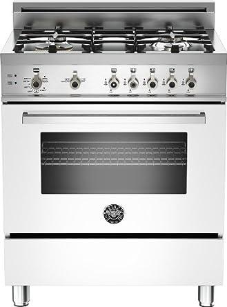 PRO304GASBI   Bertazzoni Professional 30 Gas Range, 4 Burners, Natural Gas - Bianco White