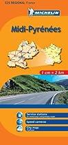 Michelin Midi-Pyrenees, France (Michelin Maps) (Multilingual Edition)