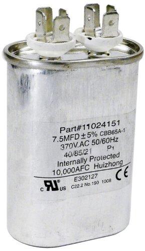 Hayward hpx11024151 7 1 2 uf fan run for Pool pump motor capacitor replacement