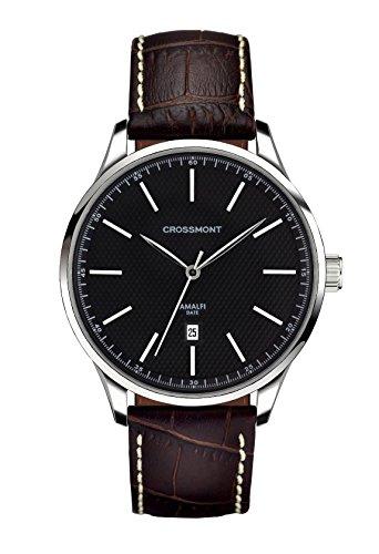 Crossmont Amalfi Orologio da uomo Carbone Nero Sportivo Marrone 40.9mm cristallo zaffiro Orologio da polso Fashion Watch CW0110509