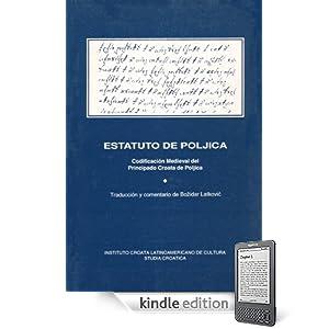 Estatuto de Poljica (Spanish Edition)
