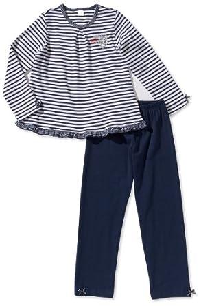 Kanz Mädchen Pyjama 1315642, Gr. 110, Mehrfarbig (0001)