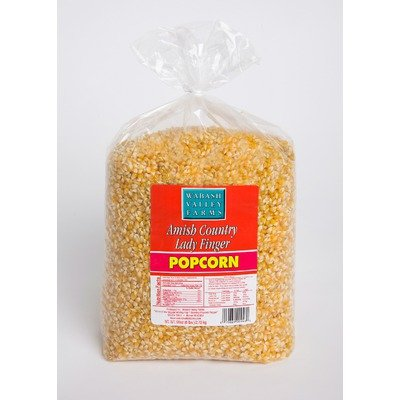 Wabash Valley Farms 46403 6 lbs Ladyfinger Gourmet Popping Corn in Yellow