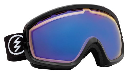 Electric Egb2S Snow Goggle, Gloss Black, Yellow/Blue Chrome