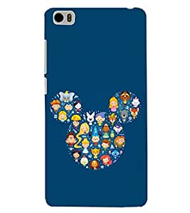 PRINTSHOPPII CARTOON Back Case Cover for Xiaomi Redmi Mi5::Xiaomi Mi 5