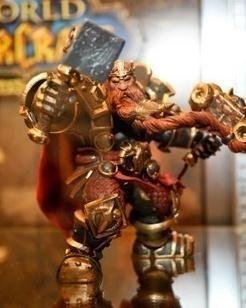 DC Unlimited WOW World of Warcraft SERIES 6 DC 6 Dwarven King Magni Bronzebeard Action Figure Collectible Model Toy by hu