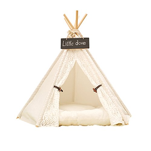 Free Love@white lesi design Pet Kennels Pet Play House Dog Play Tent Cat /Dog Bed