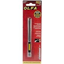 OLFA 5018 SVR-1 9mm Stainless Steel Slide-Lock Utility Knife