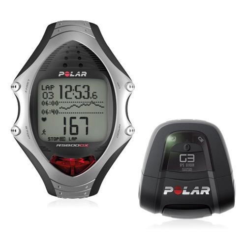 Polar RS800G3 Multisport GPS Computer Heart Rate Monitor Watch with FREE USB 2.0 Interface