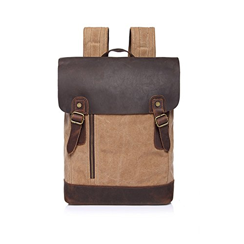 sechunk-canvas-genuine-leather-backpack-khaki